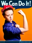 Lisa as Rosie the Riveter - With Text